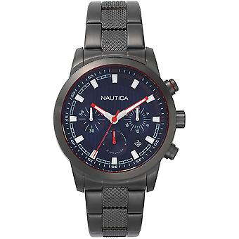 Nautica Watch NAPTYR005 - Plated Stainless Steel Gents Quartz Chronograph