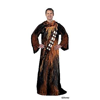 Chewbacca Adult Robe Blanket With Sleeves