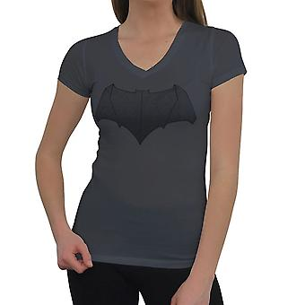Batman Vs Superman Batman Symbol Women's V-Neck T-Shirt