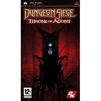 Dungeon Siege troon van Agony (PSP)-nieuw