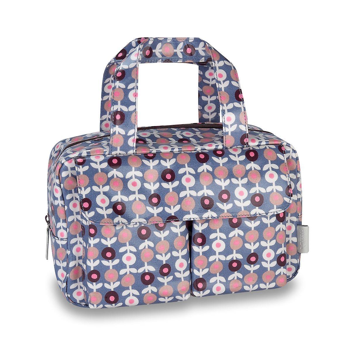'lorton' carry all wash bag - smoke