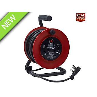 Faithfull Power Plus Cable Reel 20 Metre 13 Amp
