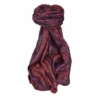 Mens Jamawar Premium Silk Scarf Modello 5279 di Pashmina & Silk