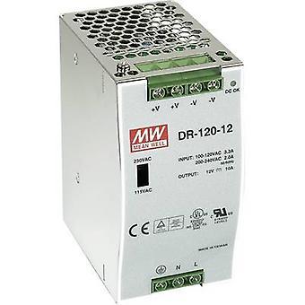 Mean Well DR-120-24 Schienennetzteil (DIN) 24 V DC 5 A 120 W 1 x