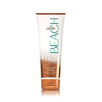 Bath & Body Works La Plaja Ultra Shea Body Cream 8 oz / 236 ml (Pachet de 2)