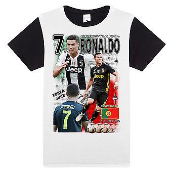 T-Shirt Ronaldo Juventus e Portugal