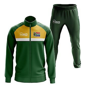 جنوب أفريقيا مفهوم كرة القدم Tracksuit (الأخضر)