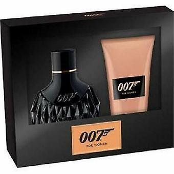 James Bond 007 för kvinnor gift set 30ml EDP + 50ml duschgel