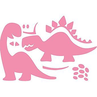 Marianne Design Collectables Eline dinosaurer dør, rosa