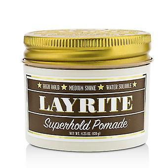 Layrite Superhold Pomade (high Hold Medium Shine Water Soluble) - 120g/4.25oz