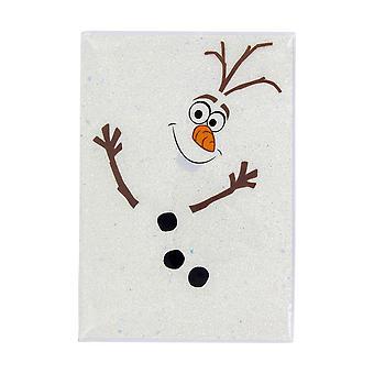 Disney Frozen II Notizbuch Olaf bedruckt, 200 Seiten, liniert.