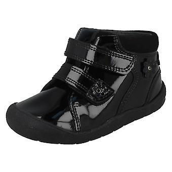 Girls Startrite Hook & Loop Ankle Boots Dream