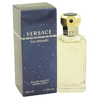 Dreamer eau de toilette spray by versace 412430 50 ml