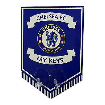 Chelsea FC Official Football Metal Key Hanging Sign
