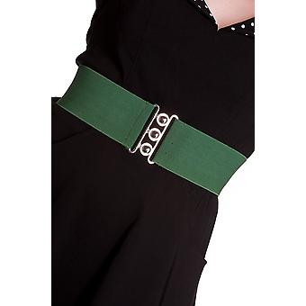 Hell Bunny Green Retro Belt XS/S