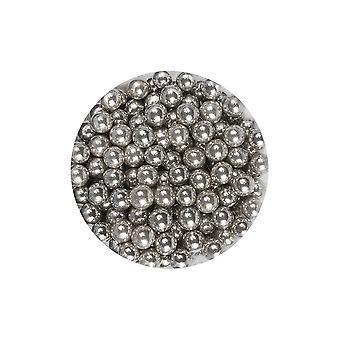Pérolas de prata roxas dos queques 6mm 1kg