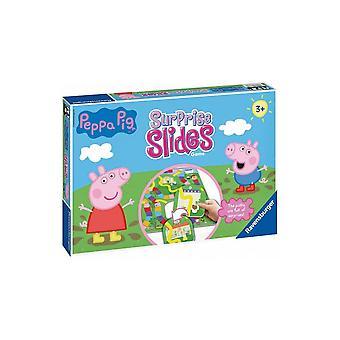 Peppa Pig Ravensburger verrassen Dia's spel