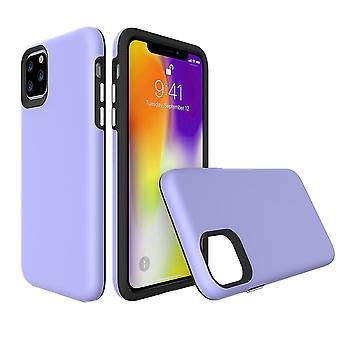 Para iPhone 11 Pro Max Caja, Protector a prueba de golpes Strong Cover Púrpura