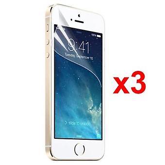 3X Protecteur d'écran IPHONE 5/5S /SE XQISIT DISPLAY FILM