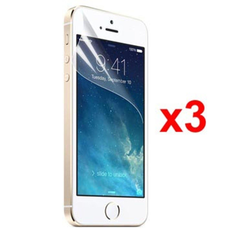 3X Screen Protector IPHONE 5/5S /SE XQISIT DISPLAY FILM