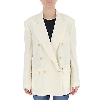 Isabel Marant 20pve124420p015i23ec Women's White Cotton Blazer