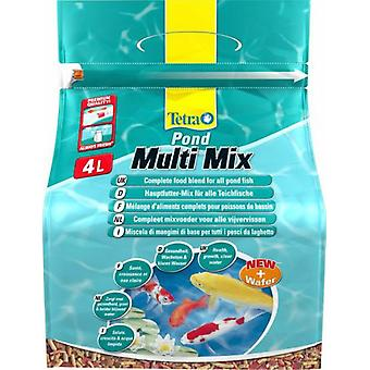 Tetra Pond Multimix 4L- 11035 (Fish , Ponds , Food for Pond Fish)
