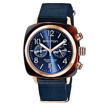 Briston 19140.PRA.T.33.NMB Clubmaster Classic Midnight Blue Wristwatch