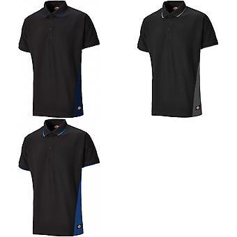 Dickies Herre to Tone Piqu Polo Shirt