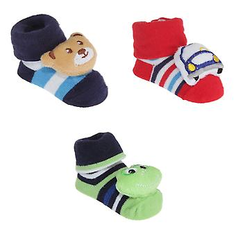 Nursery Time 3D Striped Baby Socks