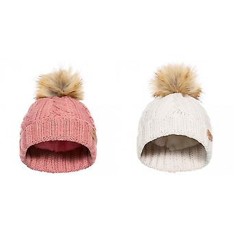 Trespass Girls Ashleigh Bobble Hat