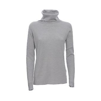 Hemisphere 1924620900 Women's Grey Wool Sweater