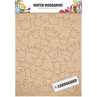 Dutch Doobadoo Dutch Cardboard art Crowns A5 472.309.004