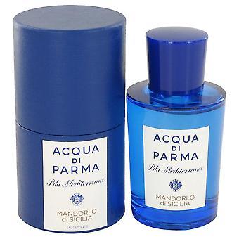 Blu Mediterraneo Mandorlo Di Sicilia Eau De Toilette Spray By Acqua Di Parma 2.5 oz Eau De Toilette Spray