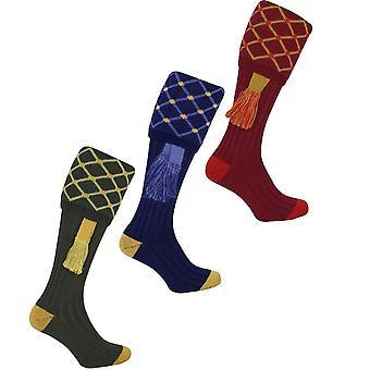 JACK PYKE Diamond Shooting Socks with Garters
