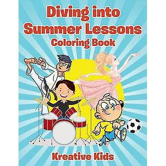 Diving into Summer Lessons Coloring Book by Kreative Kids
