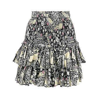 Isabel Marant ÉToile Ju075320p076ebkbe Women's Black Cotton Skirt