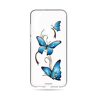 Runko Xiaomi Redmi Huomautus 8t Pehmeä perhonen Arabesque