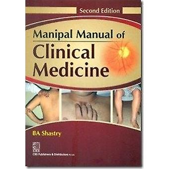 Manipal Manual of Clinical Medicine by B. A. Shastry - 9788123922652