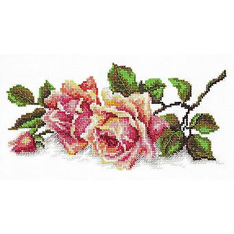 Magic Needle Cross Stitch Kit - The Scent of Roses