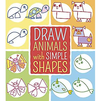 Draw Animals with Simple Shapes by Jo Moon - 9781788885027 Book