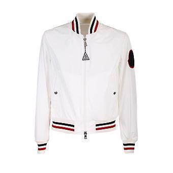 Moncler 1a7280054a91034 Men's White Polyester Outerwear Jacket
