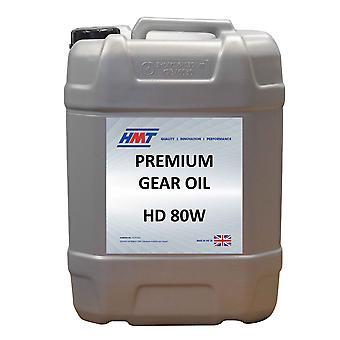 HMT HMTG015 Premium Monograde Mineral Gear Oil HD 80W - 20 Litre Plastic