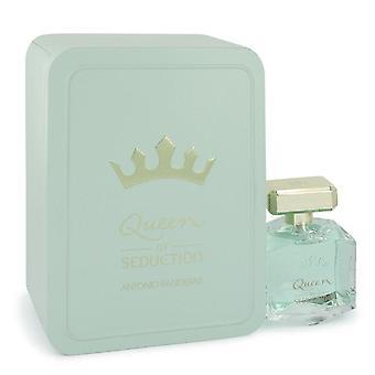 Queen of seduction eau de toilette spray (designer packaging) by antonio banderas   542542 80 ml