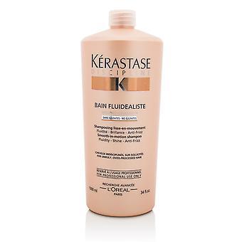 Disciplin bain fluidealiste slät i rörelse sulfat fritt schampo för bångstyrigt, över bearbetat hår 211126 1000ml/34oz