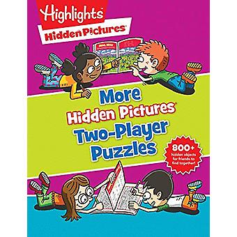 More Hidden Picture 2-player Puzzles by Highlights - 9781684372584 Bo