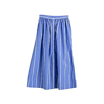 Gant Women's Striped Shirt Maxi Skirt