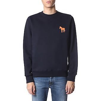 Ps By Paul Smith M2r027rbzebel49 Men's Blue Cotton Sweatshirt