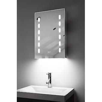 RGB-ljud badrumsskåp med sensor & rakapparat socket k385rgbaud