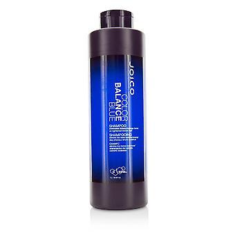 Väritasapaino sininen shampoo (poistaa brassy / oranssi sävyjä vaaleilla ruskeat hiukset) 217700 1000ml / 33.8oz