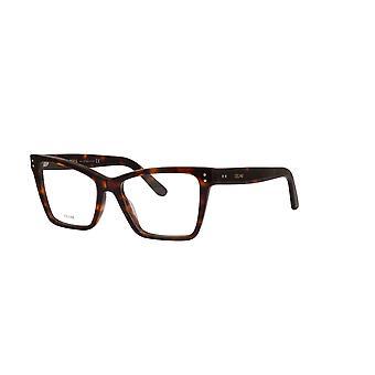 Celine CL50023I 054 Red Havana Glasses